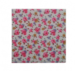 Ceramic Wall Tiles Made With Cath Kidston Tiny Roses in Pink/White